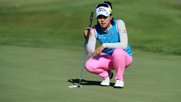 Hee Young Park during the first round of the Manulife Financial LPGA Classic