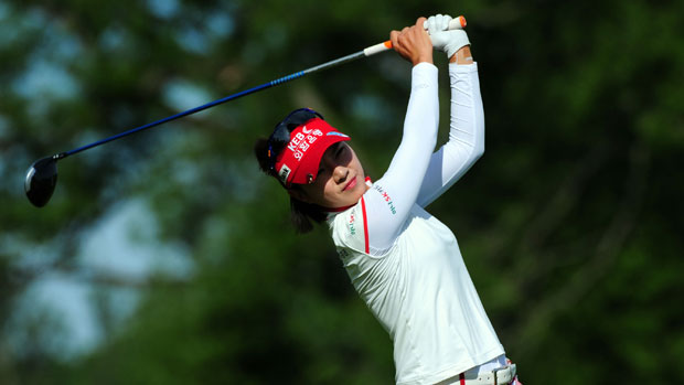 Hee Young Park during the second round of the Manulife Financial LPGA Classic