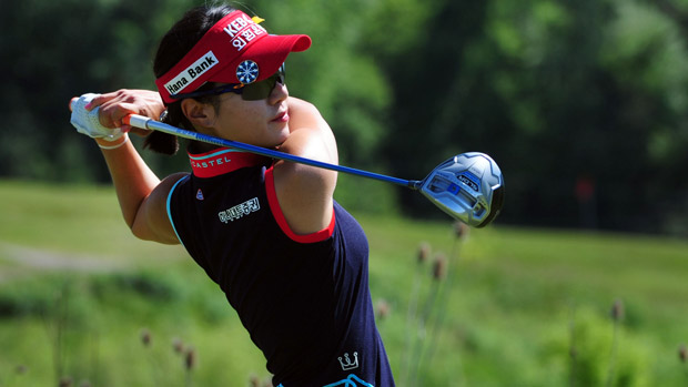 Hee Young Park during the third round of the Manulife Financial LPGA Classic