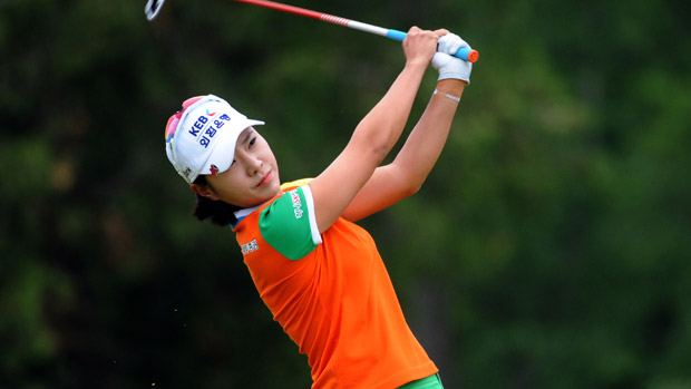 Hee Young Park during the final round of the Manulife Financial LPGA Classic