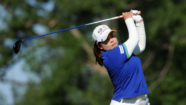 Inbee Park during the first round of the Manulife Financial LPGA Classic