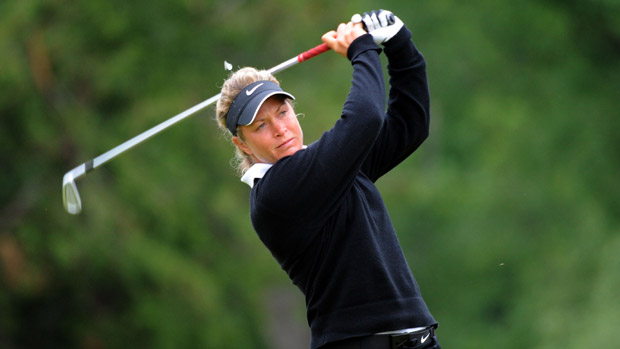 Suzann Pettersen during the final round of the Manulife Financial LPGA Classic