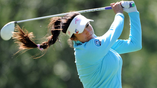 Gerina Piller during the first round of the Manulife Financial LPGA Classic