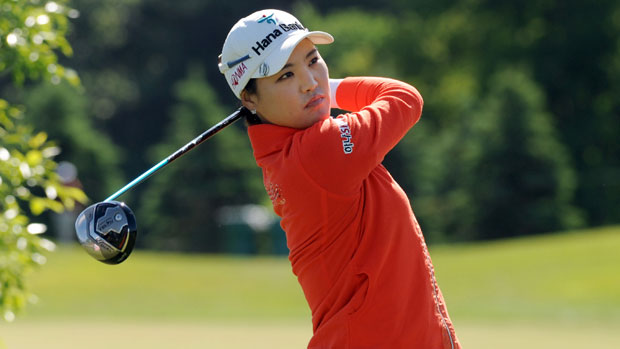 So Yeon Ryu during the first round of the Manulife Financial LPGA Classic