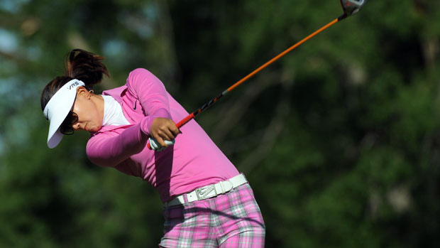Michele Wie during the first round of the Manulife Financial LPGA Classic