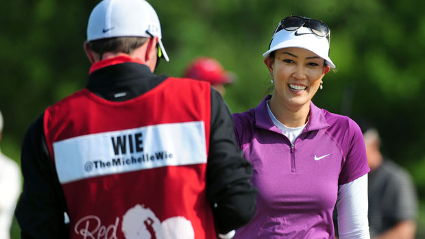 Michelle Wie during the second round of the Manulife Financial LPGA Classic