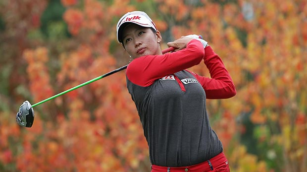 Chella Choi during the final round of the 2014 Mizuno Classic