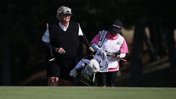 Laura Davies during the first round of the 2014 Mizuno Classic