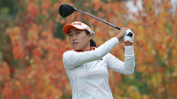 Ilhee Lee during the final round of the 2014 Mizuno Classic