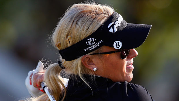 Natalie Gulbis during the second round of the 2014 North Texas LPGA Shootout