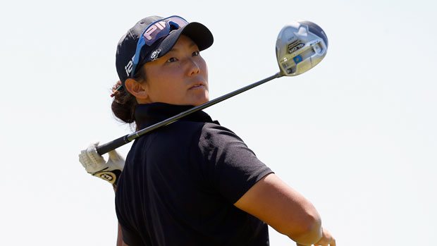 Tiffany Joh during the second round of the 2014 North Texas LPGA Shootout