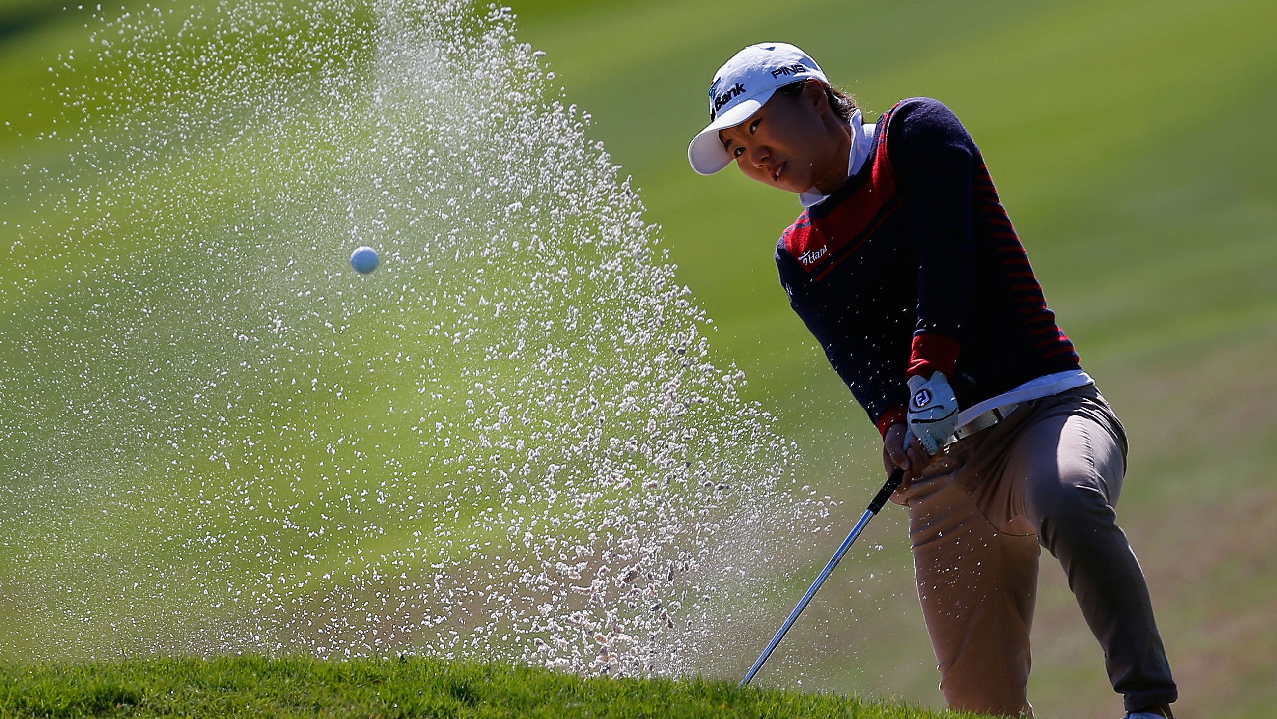 I.K. Kim during the first round of the 2014 North Texas LPGA Shootout Presented by JTBC