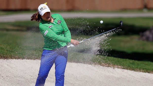 Inbee Park during the first round of the 2014 North Texas LPGA Shootout Presented by JTBC