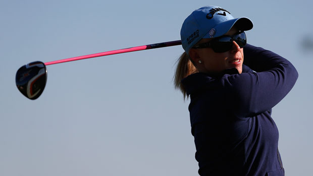 Morgan Pressel during the first round of the 2014 North Texas LPGA Shootout Presented by JTBC