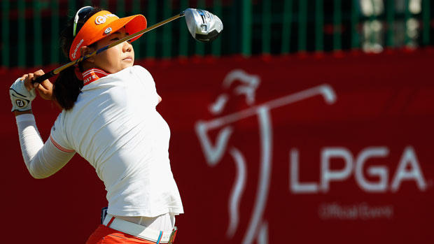 Jenny Shin during the second round of the 2014 North Texas LPGA Shootout