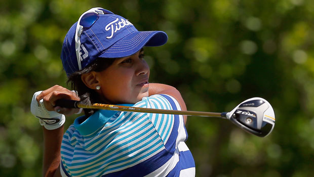 Julieta Granada during the third round of the 2014 North Texas LPGA Shootout Presented by JTBC