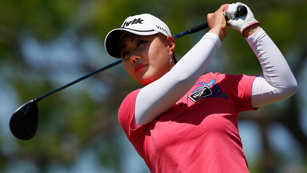 Meena Lee during the final round of the 2014 North Texas LPGA Shootout Presented by JTBC