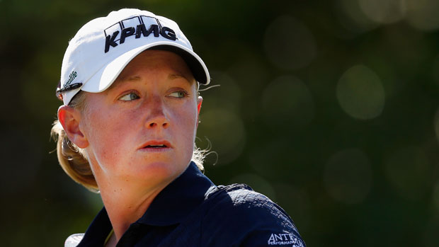 Stacy Lewis during the third round of the 2014 North Texas LPGA Shootout Presented by JTBC