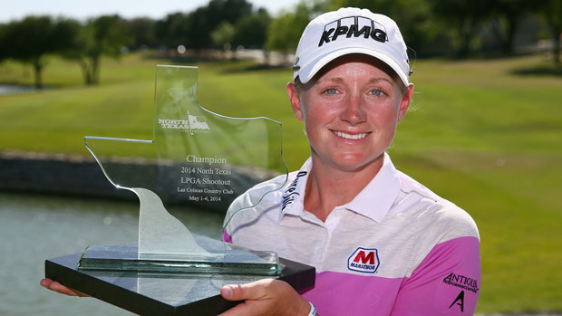 Stacy Lewis after winning the North Texas LPGA Shootout Presented by JTBC