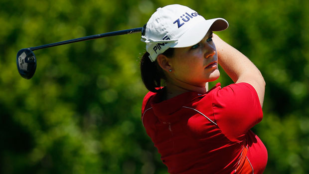 Caroline Masson during the third round of the 2014 North Texas LPGA Shootout Presented by JTBC