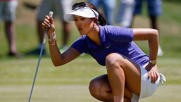 Michelle Wie during the third round of the 2014 North Texas LPGA Shootout Presented by JTBC