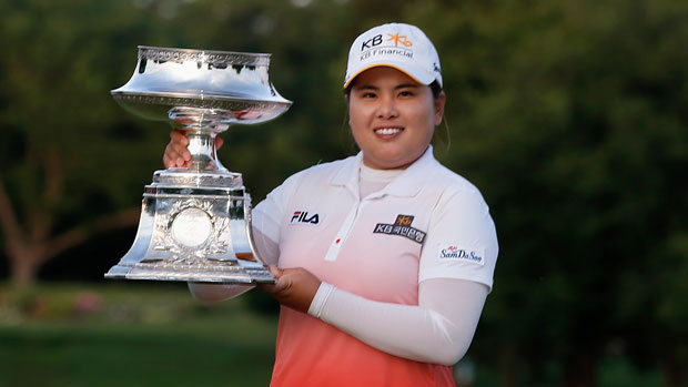 Inbee Park after winning the 2013 Wegmans LPGA Championship