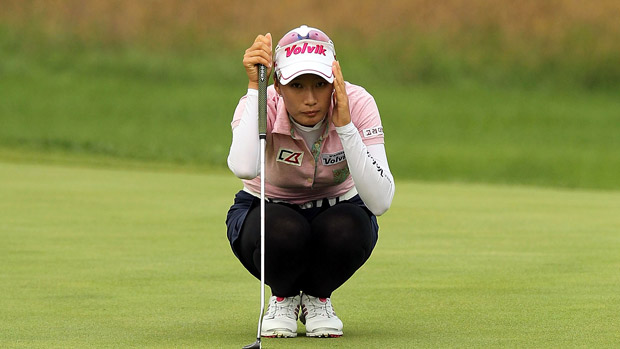 Chella Choi during the first round of the Reignwood LPGA Classic