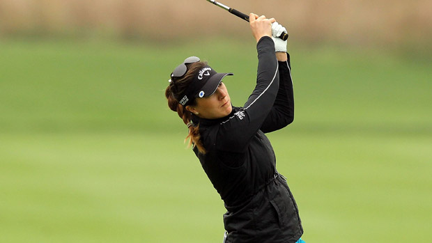 Sandra Gal during the second round of the Reignwood LPGA Classic