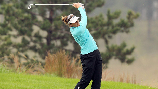 Brittany Lang during the third-round of the Reignwood LPGA Classic