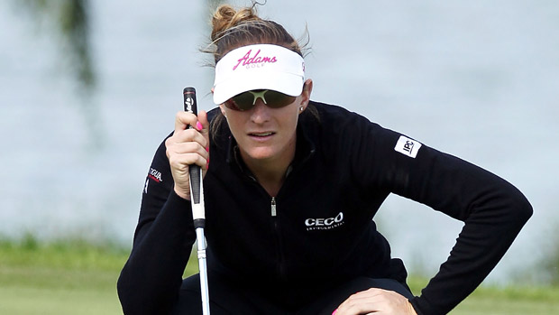 Brittany Lang during the final round of the Reignwood LPGA Classic