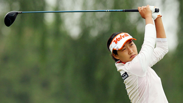 Ilhee Lee during the second round of the Reignwood LPGA Classic