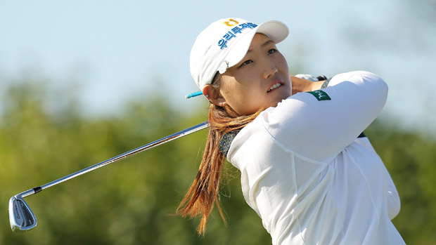 Mirim Lee during the final round of the Reignwood LPGA Classic