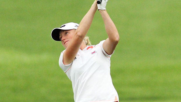 Stacy Lewis during the third-round of the Reignwood LPGA Classic