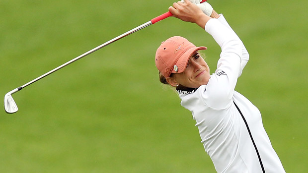 Belen Mozo during the second round of the Reignwood LPGA Classic