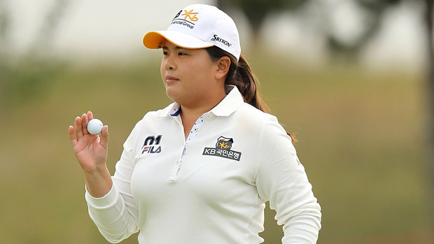 Inbee Park during the first round of the Reignwood LPGA Classic