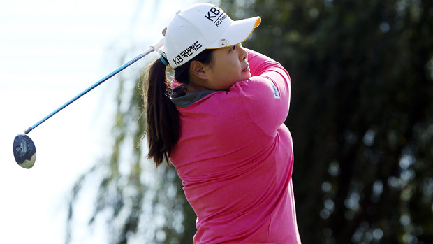 Inbee Park during the final round of the Reignwood LPGA Classic