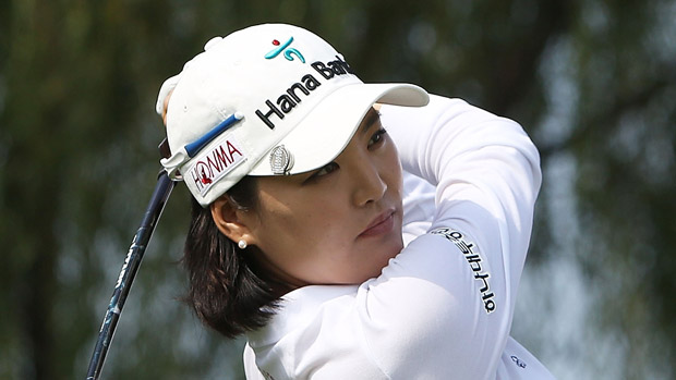 So Yeon Ryu during the first round of the Reignwood LPGA Classic