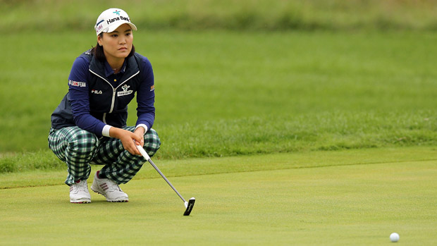So Yeon Ryu during the second round of the Reignwood LPGA Classic