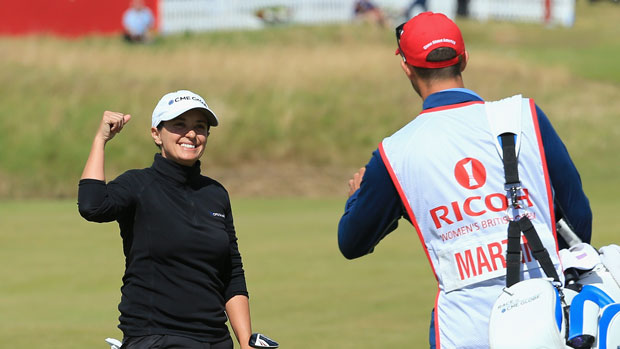 Mo Martin during the final round of the 2014 RICOH Women's British Open
