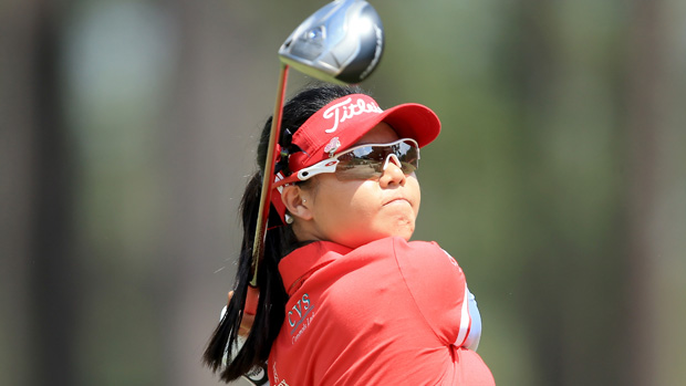 Sue Kim during the third round of the U.S. Women's Open