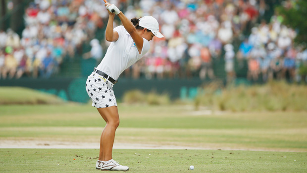 Amateur Minjee Lee during the third round of the U.S. Women's Open