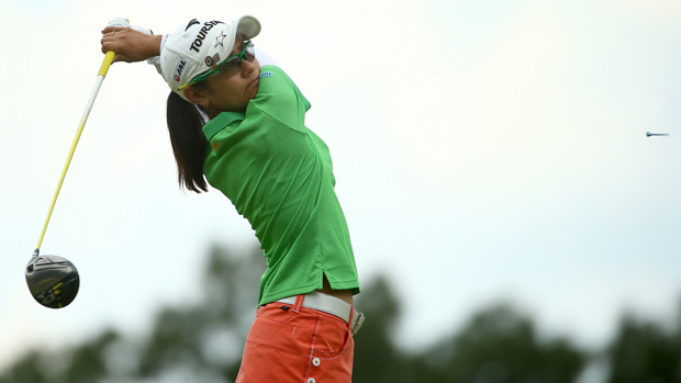 Ai Miyazato during the second round of the U.S. Women's Open