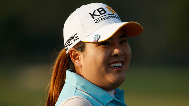 Inbee Park during a practice round prior to the start of the U.S. Women's Open