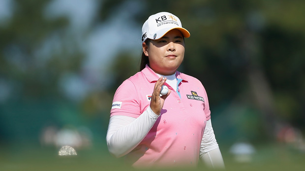 Inbee Park during the first round of the U.S. Women's Open