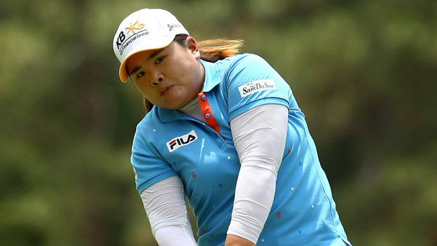 Inbee Park during the second round of the U.S. Women's Open