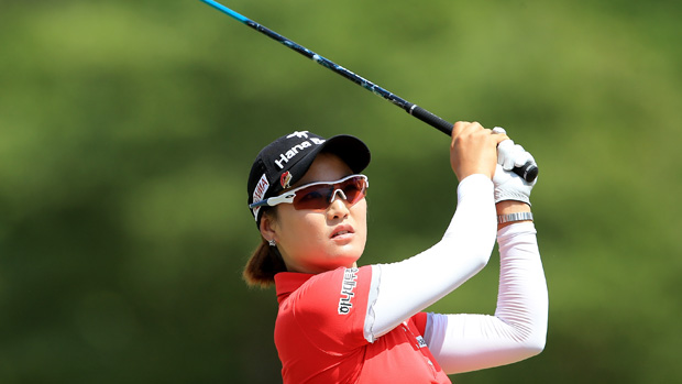 So Yeon Ryu during the third round of the U.S. Women's Open