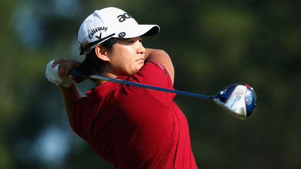Yani Tseng during the second round of the U.S. Women's Open
