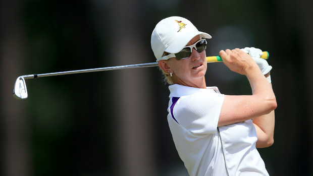 Karrie Webb during the third round of the U.S. Women's Open