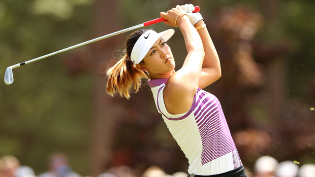 Michelle Wie during the third round of the U.S. Women's Open