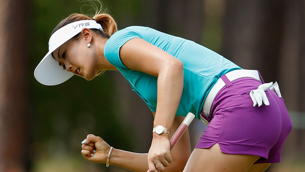Michelle Wie during the final round of the U.S. Women's Open